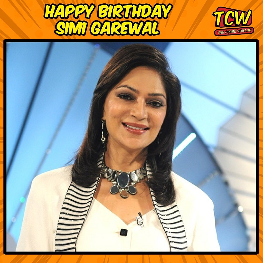 Happy birthday, the most ravishing tv anchor, Simi Garewal.