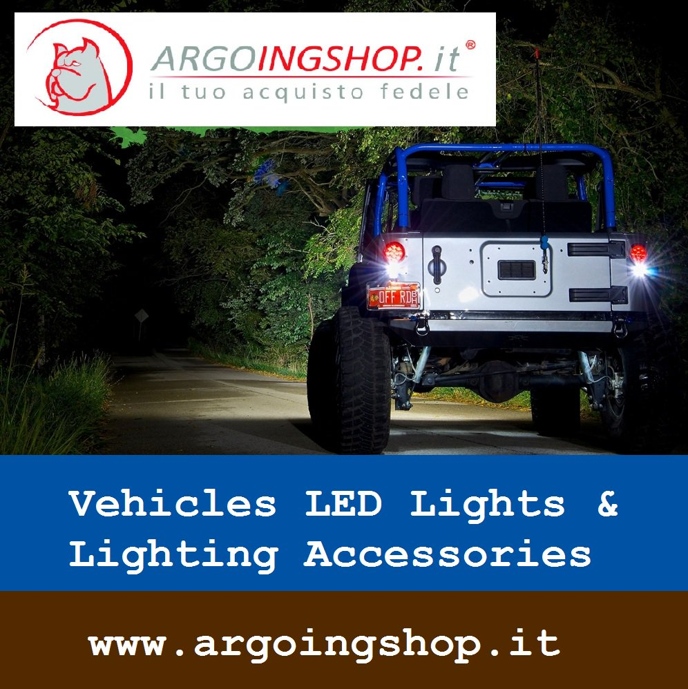#Vehicles LED Lights &amp; Lighting Accessories - Tail, Bars, #Headlights, Strips, Bulbs, Custom Light Kits  http://www. argoingshop.it  &nbsp;  <br>http://pic.twitter.com/OLJD9h8Fit