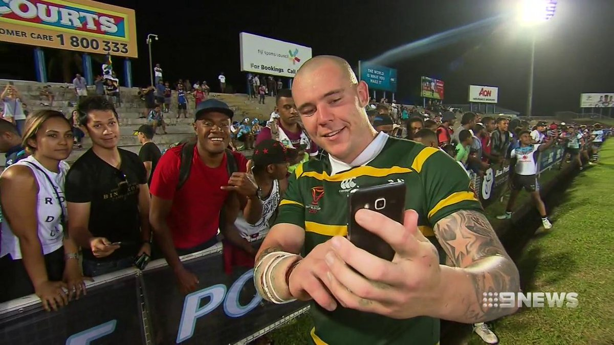 David Klemmer's inside knowledge of players from across the world could be an asset for Mal Meninga at the #RLWC2017. @Danny_Weidler #9News