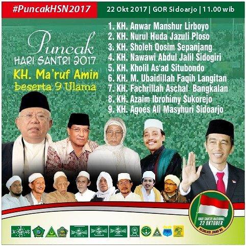 #PRI2017 22 Oktober #PuncakHSN2017 di Si...