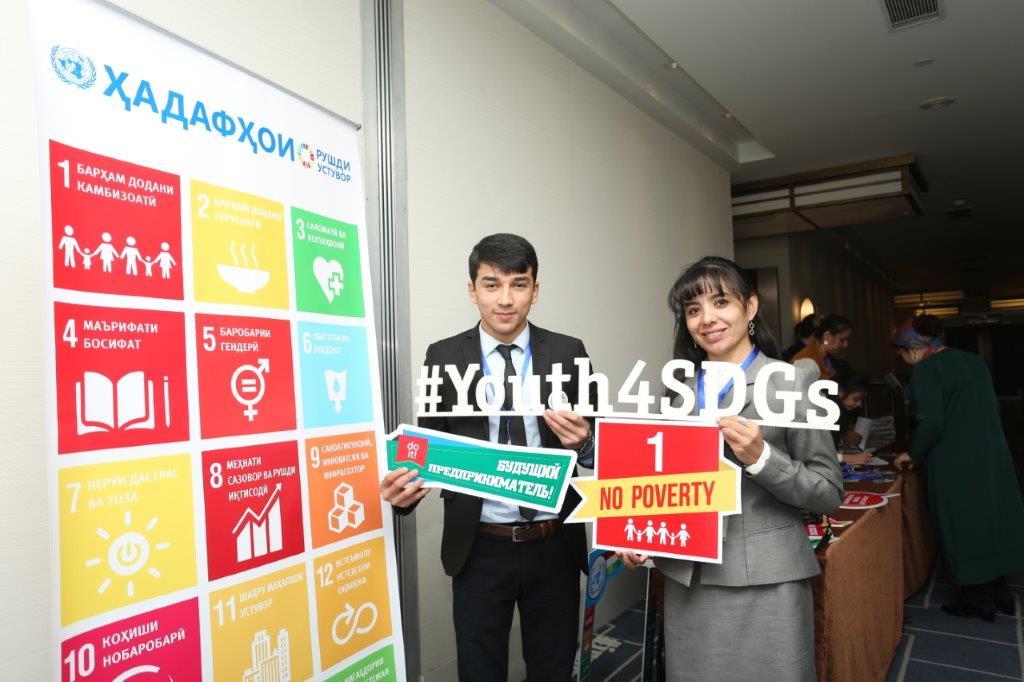 #UNDP TJK promoting #Youth entrepreneurship on #InternationalDayforEradicationofPoverty @PratibhaUNDP<br>http://pic.twitter.com/RTOQyzQRDW
