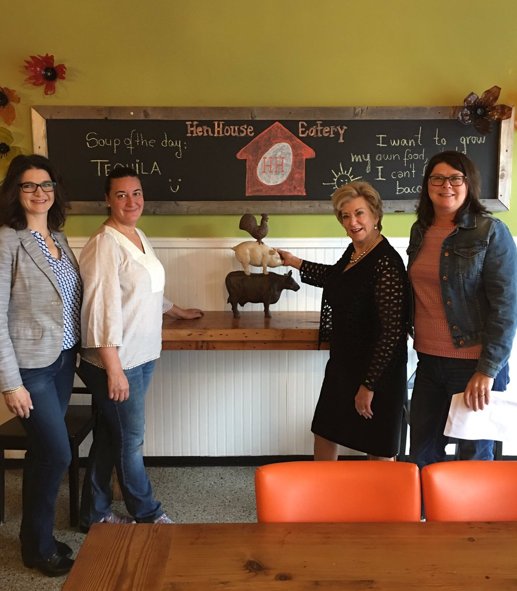 Today&#39;s #SBAIgniteTour starts with a visit to @HenHouseEatery in downtown Minneapolis! #WomanOwned #SmallBusiness #SBA<br>http://pic.twitter.com/mRnLSgt1pb