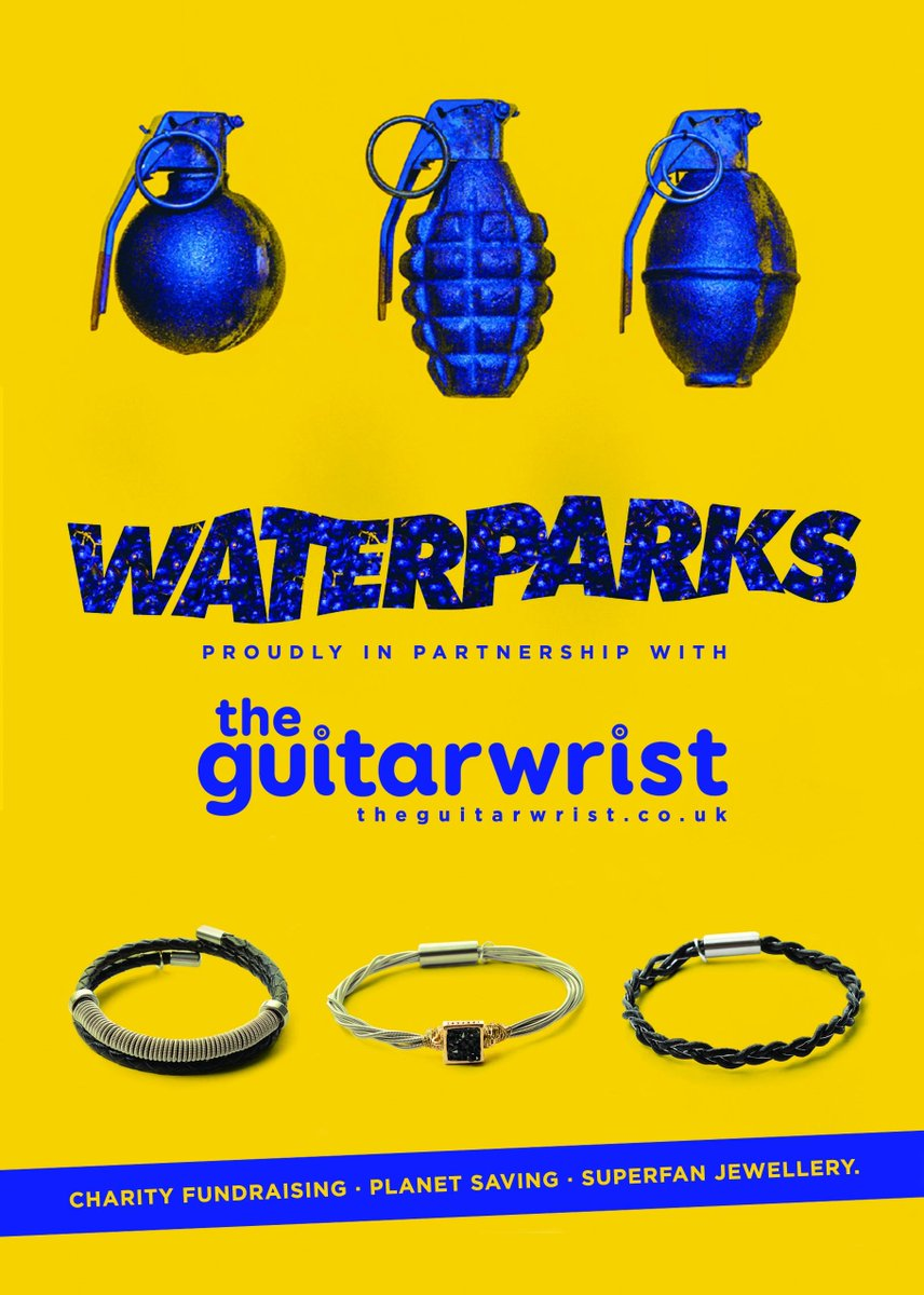 we&#39;ve loaded up a few @waterparks items in the store   https:// theguitarwrist.co.uk/waterparks/  &nbsp;    #charity #savetheplanet #jewellery #waterparks<br>http://pic.twitter.com/qzIY5nm33C