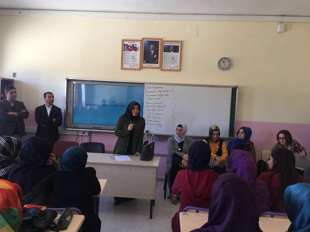 #Mardin Şakir Nuhoğlu Anadolu İmam Hatip Lisemizi ziyaret ettik, değer...
