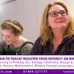 Join us tomorrow 1:00pm - 4:00pm and find out more about Training to Teach with Kirklees & Calderdale SCITT https://t.co/JSiz75s9dg