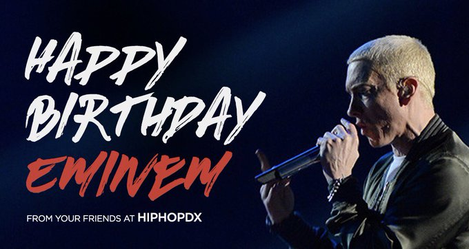 Happy Birthday to Remessage and Comment your favorite track from the Rap God!