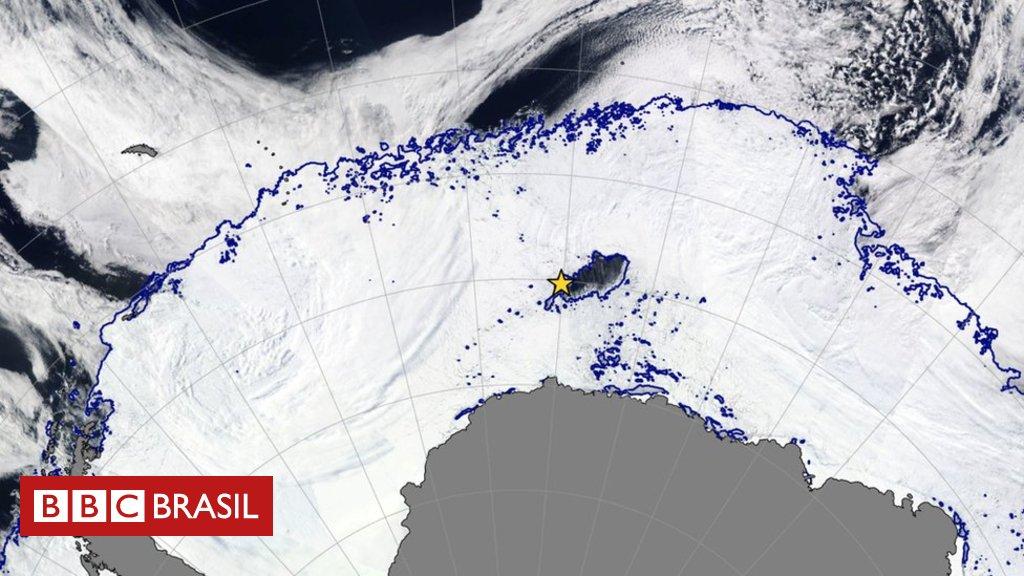 Cientistas descobrem buraco maior que a Paraíba no gelo da Antártida https://t.co/9tEvtx7uf4