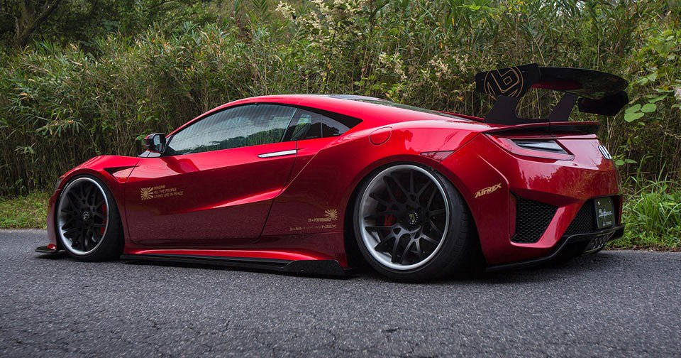 #LibertyWalk #Honda #NSX Is The Finest Of JDM Creations  http:// j.mp/2gLyCF1  &nbsp;  <br>http://pic.twitter.com/F7jQoE2Vei