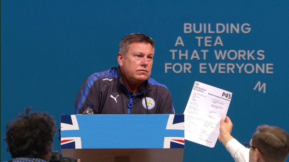 Is Craig Shakespeare becoming football&#39;s answer to Theresa May? #LCFC #cpc17<br>http://pic.twitter.com/AKdaAK5foR