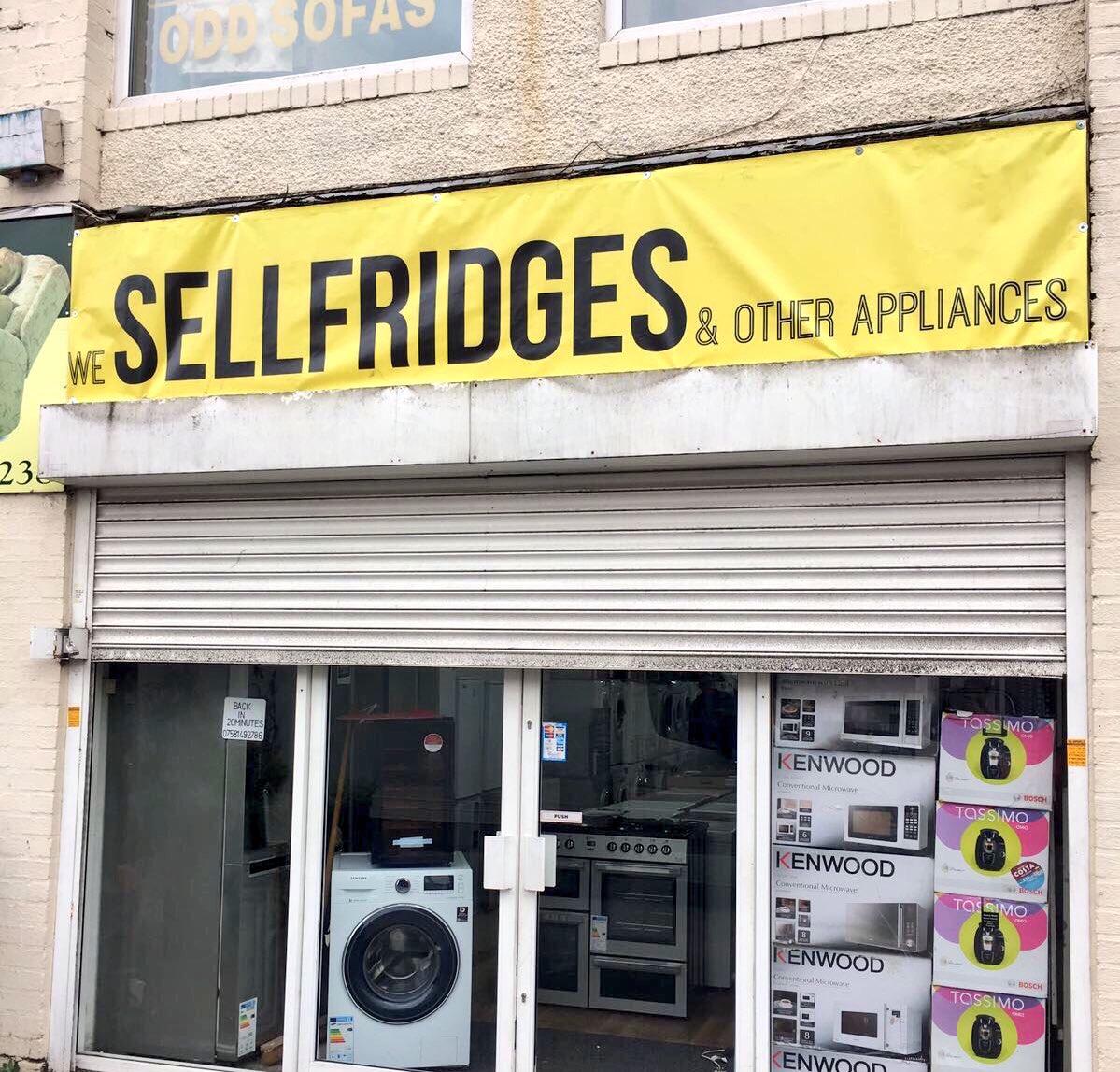 RT @simonsugar: Fridge shop in Birmingham https://t.co/nfrMidcnfg