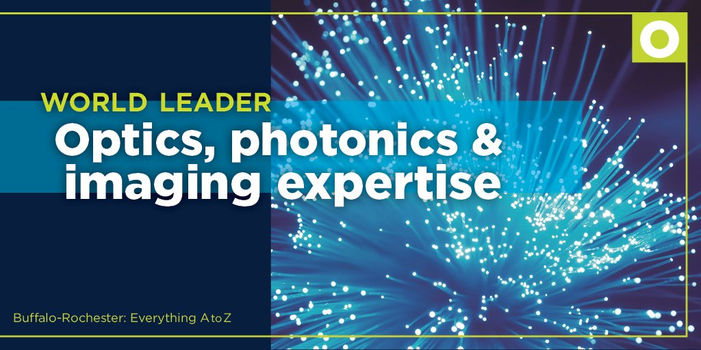 O = Optics, photonics and imaging expertise - #RochesterNY is the leader in this industry. #EverythingAtoZ @AmazonHQ2News @Invest_BN<br>http://pic.twitter.com/LKaXU9eIga