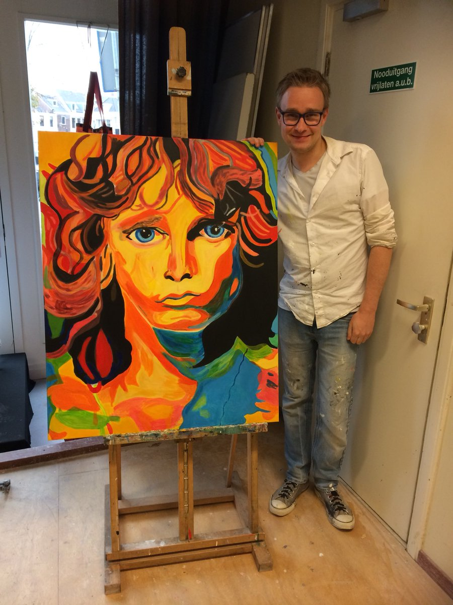 @jessiteich #Jim Morrison Singer FROM The Doors I Hope You Like it Portrait Music Great  <br>http://pic.twitter.com/KtFfwmZQVa
