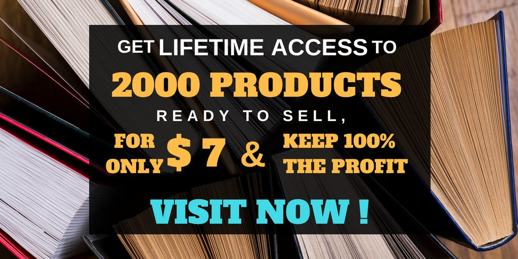 #internetsecurity YOU GET 2000 PLR Digital Products. Ready to Sell For $7. keep 100% of the profit. SEE &gt;&gt;    http:// bit.ly/2t60kor  &nbsp;  <br>http://pic.twitter.com/rVDqM81wZ7