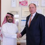 visit2 #qataraeonauticalcollege, warm rec by HE DG JbHMoh Al-Than, Dr SRaA Al Marri&Dr NAl Barazanchi #diamondaircraft planes 2 arrrive soon