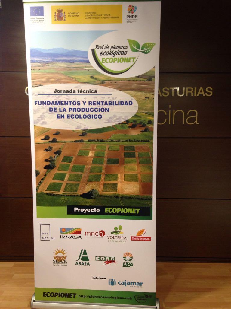 Hoy estamos en #QuintanardelaOrden #Toledo como colaboradores del grupo operativo #Ecopionet #rentabilidad #ecológico https://t.co/QQxtVJfnma