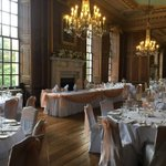 The #beautiful #ballroom at #Gosfieldhall looking lovely as always!