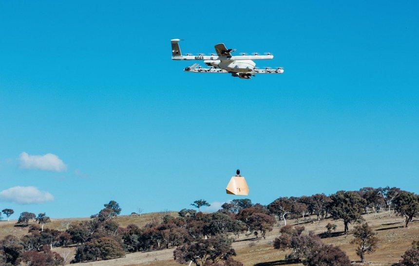 Empresa-irmã do Google começa a entregar remédios e burritos com drones https://t.co/ZeKh8s8HKU