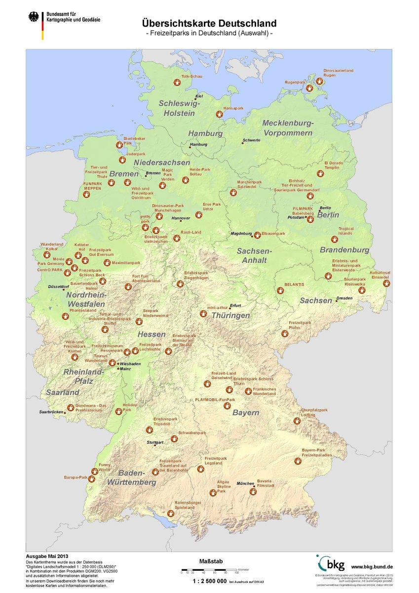 Bundesamt Fur Kartographie Und Geodasie On Twitter Herbstferien