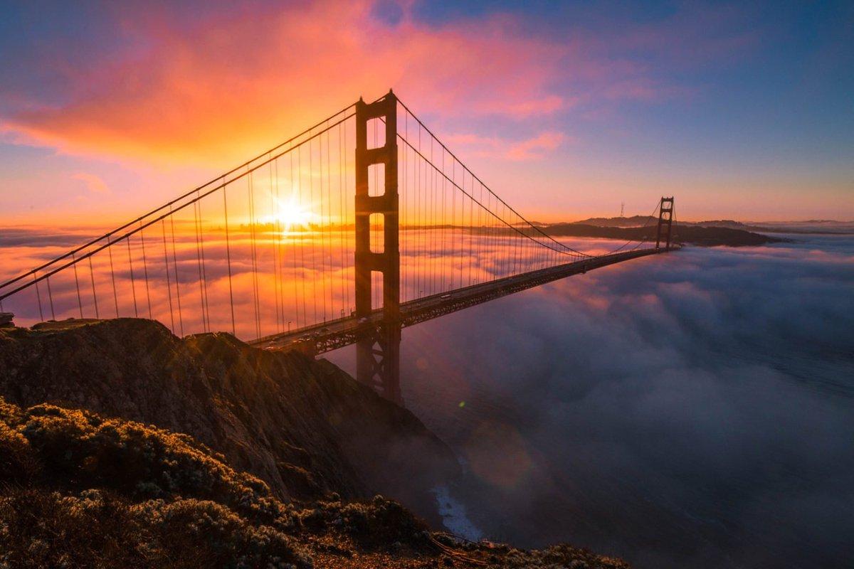 San Francisco - Golden Gate Bridge - USA - California - Sunset #sanfrancisco #USA #california #sunset #goldengatebridge<br>http://pic.twitter.com/N8K63uYxSL
