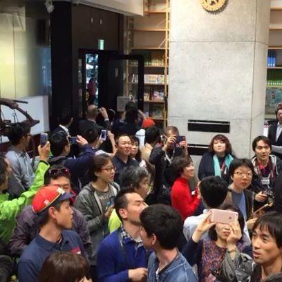 Vinncenzo Nibali star anche in Giappone. Che accoglienza dai tifosi orientali - https://t.co/UfnFRb9OA1 #blogsicilianotizie #todaysport