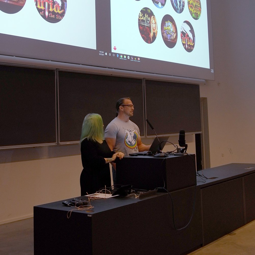 .@Aleissia and @BrianSchwabAI kicked off #gain17 this morning talking about AI and mixed reality. <br>http://pic.twitter.com/npXRFAvr7Q