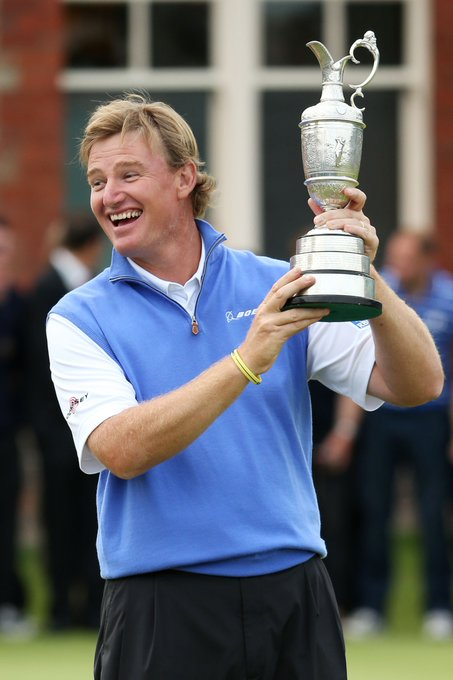 HAPPY BIRTHDAY! Three cheers to Ernie Els, who turns 48 today!