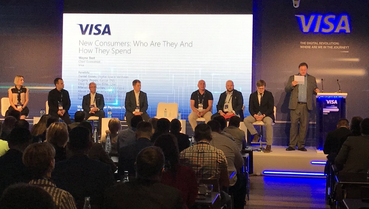 Looking forward to Oleg's presentation of Qiwi's new Sovest card at the Visa Russia and Eastern European annual Payments Forum in Barcelona