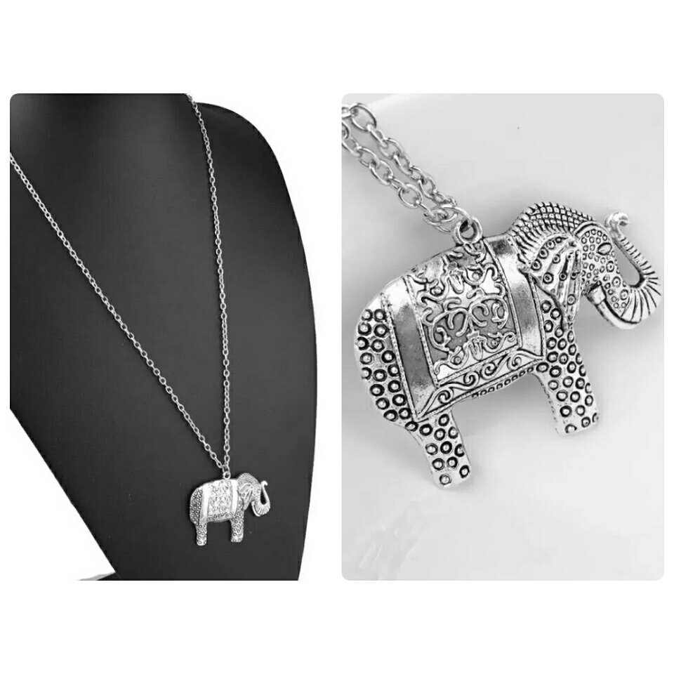 Retro #Elephant Sweater #Pendant Necklace  http:// ebay.co.uk/itm/1624984282 54 &nbsp; …  #spdc #sbutd #flockbn #Londonislovinit #UKhashtags #ukbiz #elevenseshour<br>http://pic.twitter.com/YUXmskqBpt