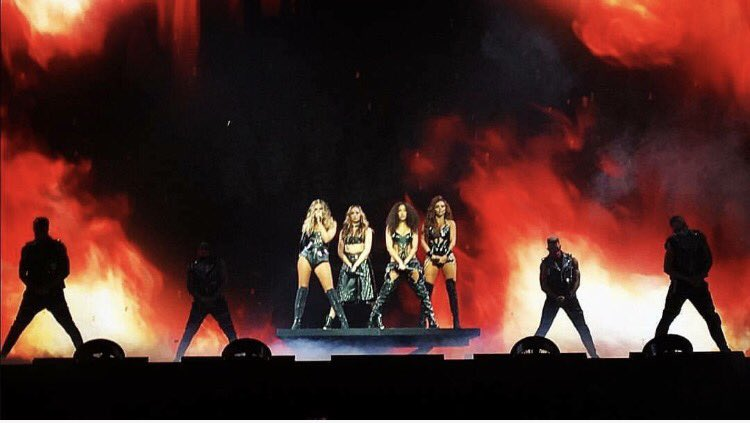 Just 4 sisters bringing fire to the stage doing what we love and do best.. ❤️ #glorydaystour