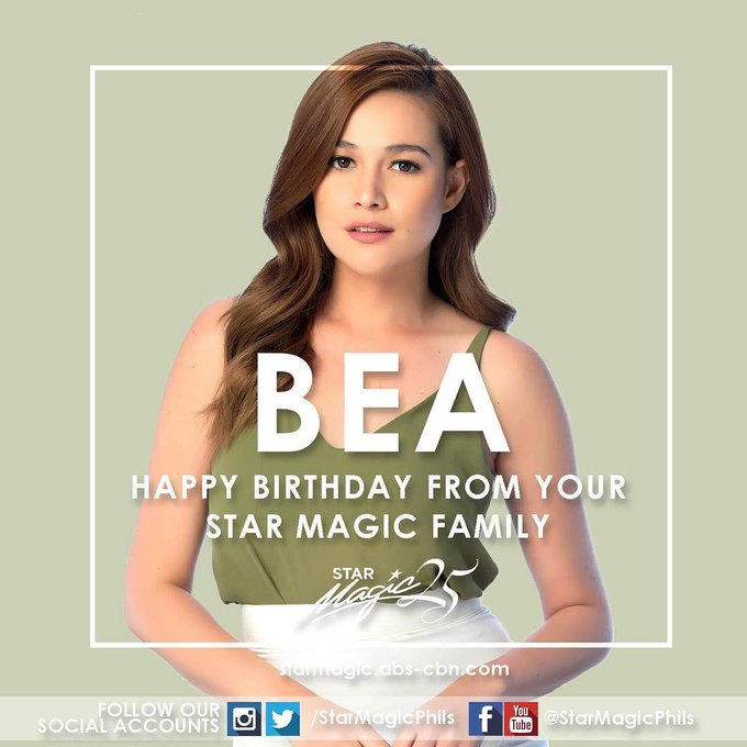 Happy Birthday Bea Alonzo!!!