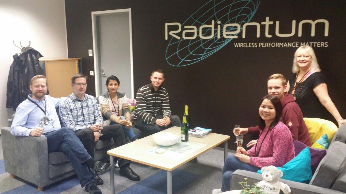 Typical Tuesday @RadientumLtd office!  #antenna #RFID #startup  #tiimissäonvoimaa<br>http://pic.twitter.com/pzC6wJxtHx
