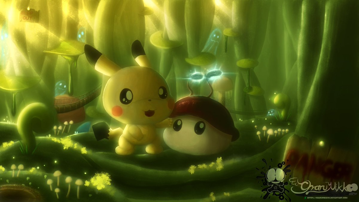 charunikkoo on twitter pokemon forbidden magical forest cute
