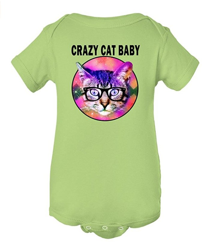 Crazy Cat Baby Space #Cat #Funny #Baby Onesie! Shop here-&gt; http:// amzn.to/2zuoEjg  &nbsp;   #crazycatlady #momlife #daddy #dadlife #mommy #mommasboy<br>http://pic.twitter.com/Uj08Se9Z1v
