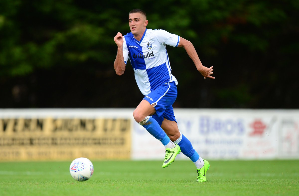 HALF TIME: @Official_BRFC 4-0 Kidderminster  Goals from Otudeko, Baghdadi, Dunwald and Kilgour gives the Development Squad the lead.