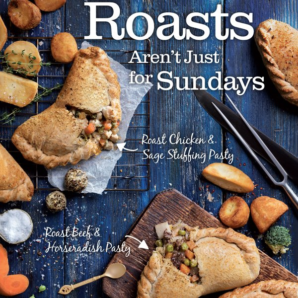 Roasts aren&#39;t just for Sundays! Welcome to our two new Great #British flavours - Beef &amp; Horseradish and Chicken with Sage #HelloAutumn <br>http://pic.twitter.com/o967T4UOQI