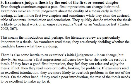 What #PhD students should know: 11 things examiners do as they read &amp; judge a #thesis  https:// buff.ly/2x2eNj0  &nbsp;   #phdchat #phdadvice #ecrchat <br>http://pic.twitter.com/er6wJEmG4y