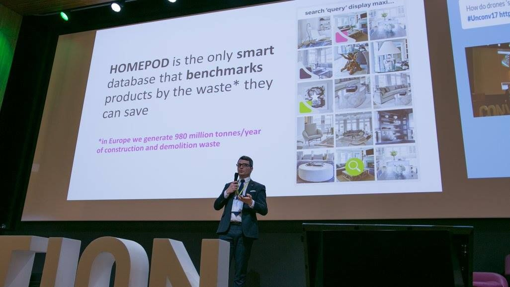 We&#39;ve started with &quot;How to save Construction and demolition waste?&quot; and created HOMEPOD #startups #homepod #proptech #building #climateKIC<br>http://pic.twitter.com/JvoW4AJ0mS