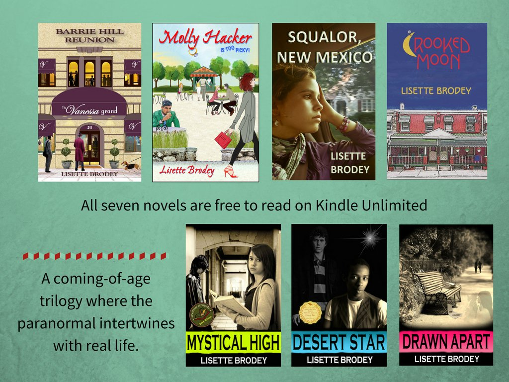 The writing is on the wall. Seven books / multiple genres. #FREE #KindleUnlimited  http:// Author.to/lisettebrodey  &nbsp;    #ebooks #reading    #bookworm<br>http://pic.twitter.com/biITcnKrKT