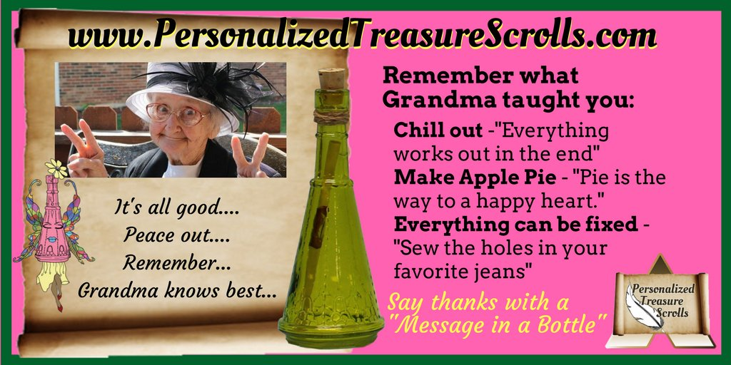 #Family #memories last with a #message of remembrance &amp; #love. #Send it in a bottle @  http://www. personalizedtreasurescrolls.com  &nbsp;    #FamilyMatters #grandma #kids<br>http://pic.twitter.com/Gu8DrgtLYB