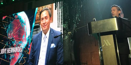 #AsiaCEOAwards2017 officially opens with Jovy Hernandez of Smart Enterprise. Watch out for #GreenCompany of the Year. <br>http://pic.twitter.com/XykV7pmEQw
