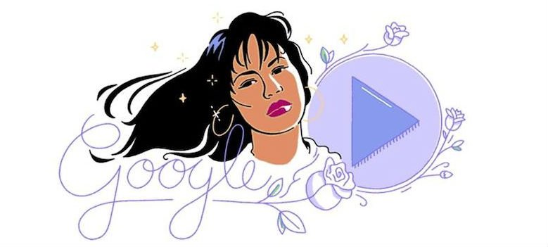 Google celebrates Selena's 1989 debut album with a new Doodle. https:/...