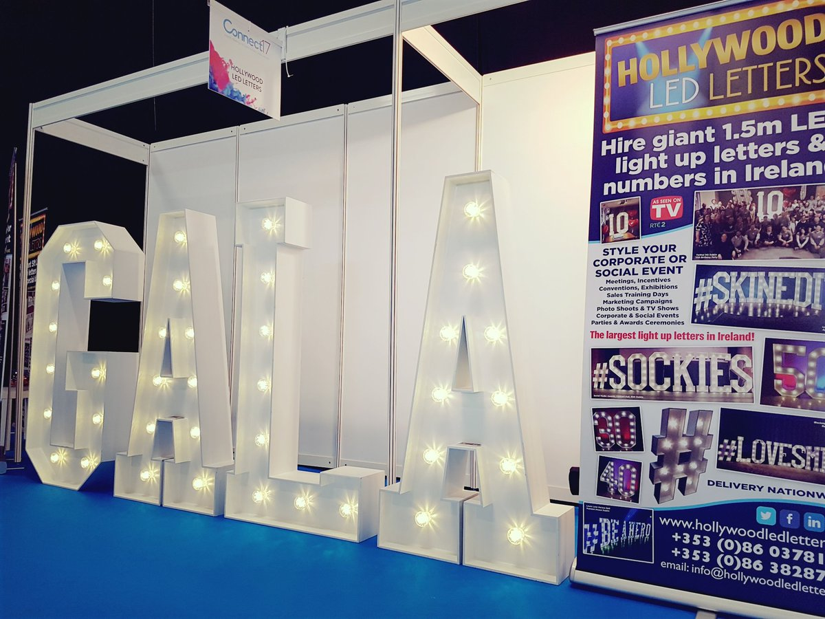 Have you spotted our giant LED #lightupletters  ? #hollywoodledletters @ConnectShowcase #connect17 #connectshowcase Hall2 come visit  <br>http://pic.twitter.com/kbHFqOIira