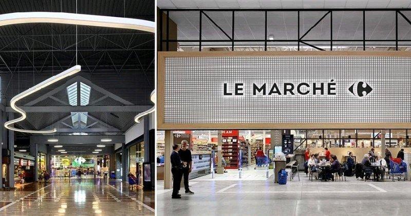 Carrefour Villiers-en-Bière, sans doute le plus grand hypermarché d'Europe ! #TOPCOM17  http:// saguez-and-partners.com/portfolio/carr efour-villiers-en-biere/  … pic.twitter.com/TaFPn8CVnq
