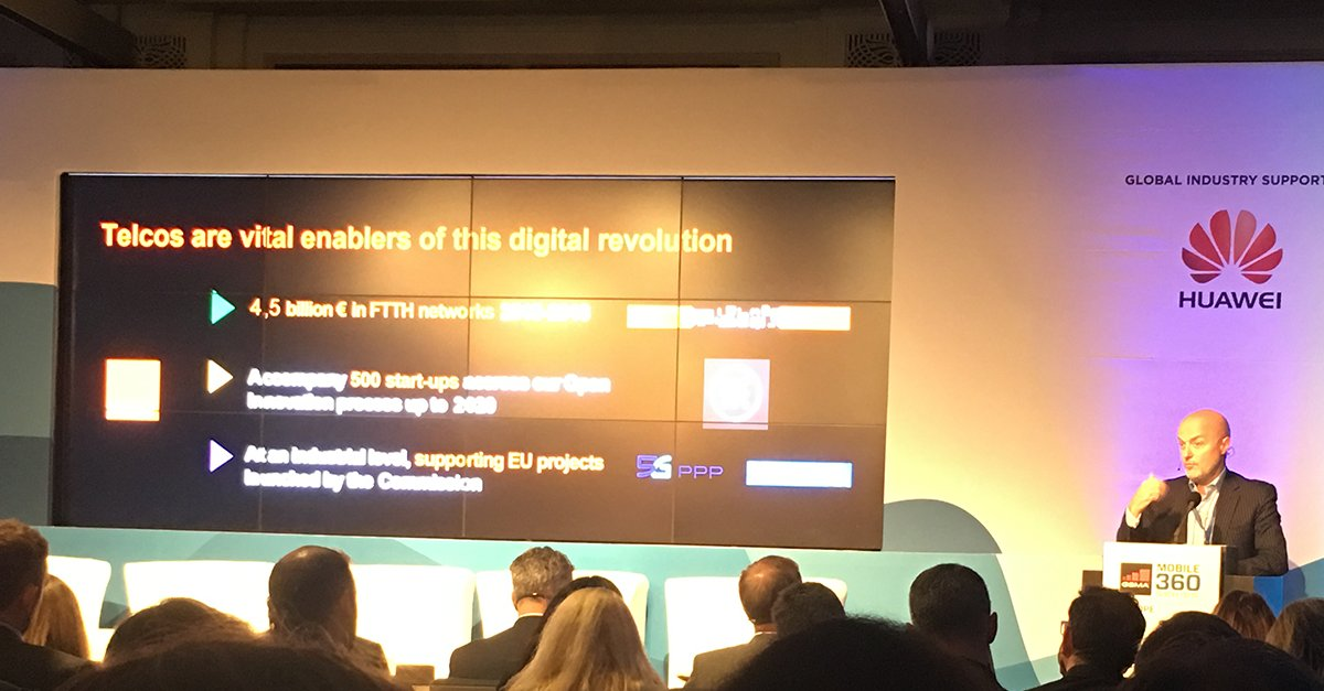 European operators are vital enablers of the new industrial revolution shares @LouettePierre, Deputy CEO @orange at #M360EU