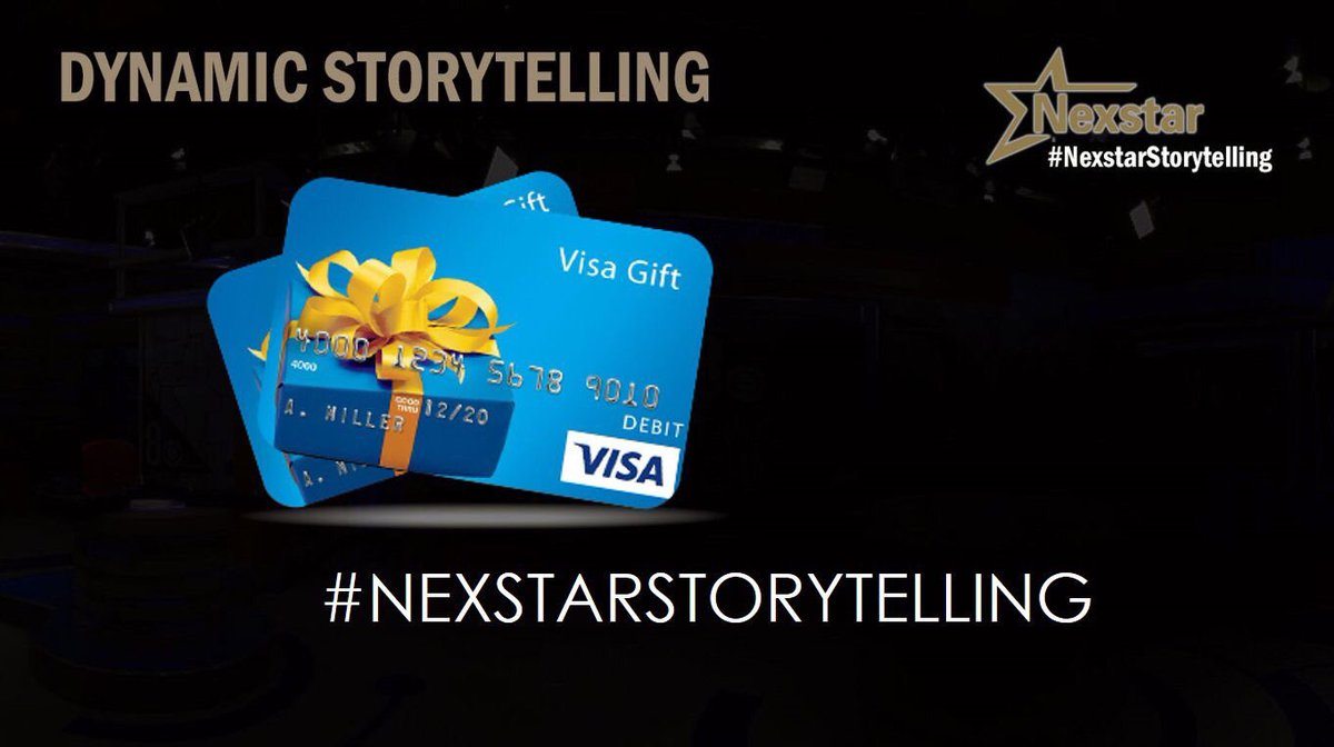 Last day to get in those #NexstarStoryte...