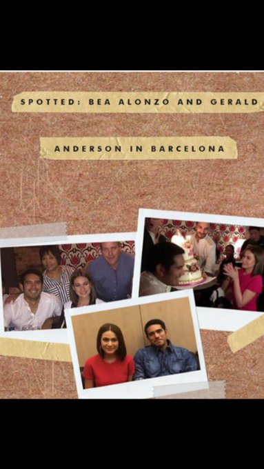 So much love for Bea Alonzo on her Bday today   Happiest Bday Bei w/Ge in Barcelona. .so happy for you both