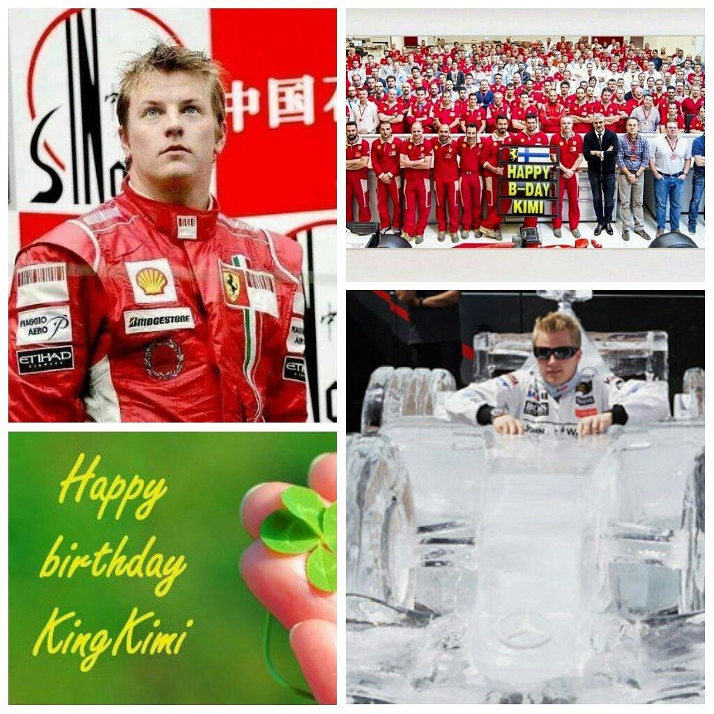Happy birthday KIMI RAIKKONEN  MY ICEMAN