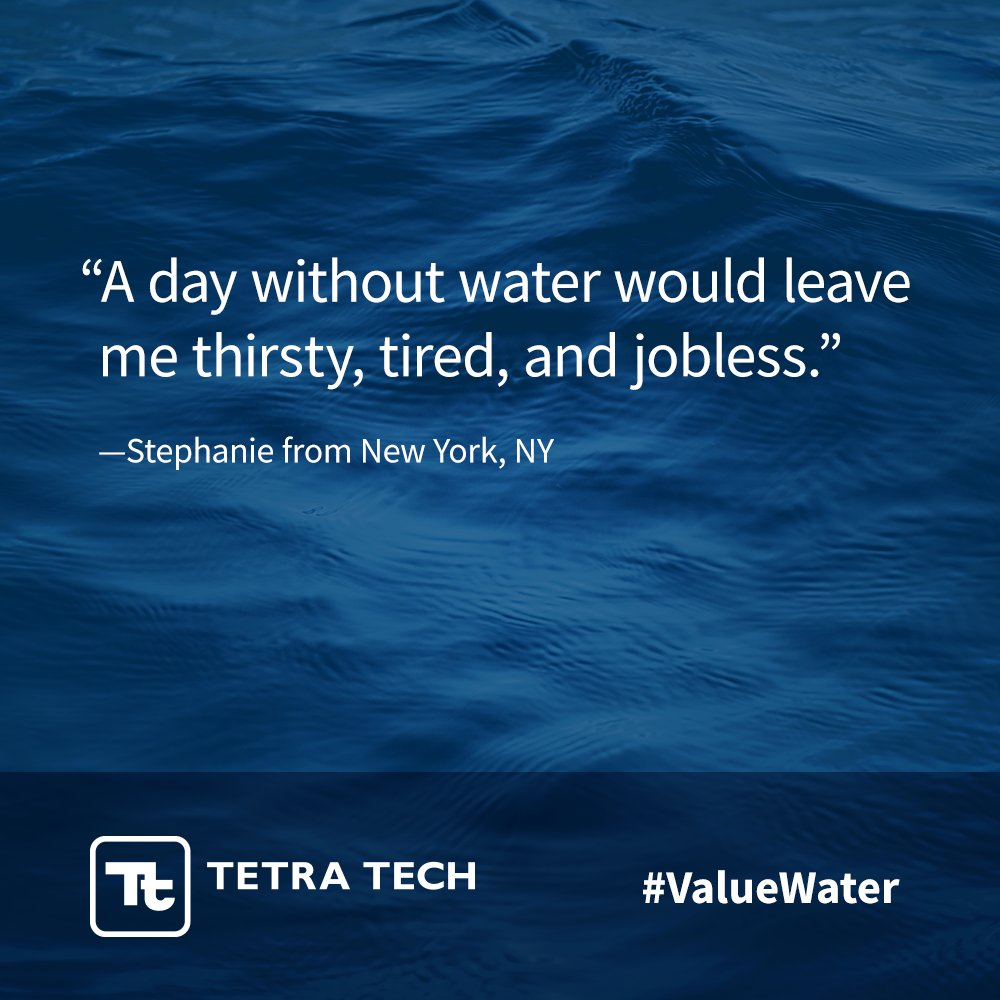 #ValueWater Latest News Trends Updates Images - TetraTech