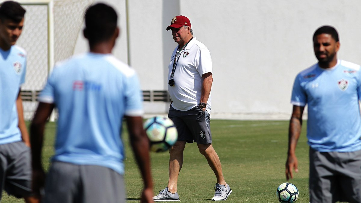 Fluminense faz último treino antes de enfrentar o São Paulo. >>...