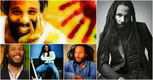 Happy Birthday to Ziggy Marley (born 17 October 1968)
